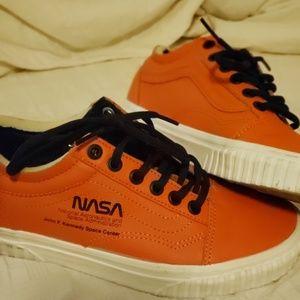Vans Shoes - Vans Nasa collaboration orange women's size 6.5